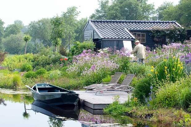 Garden by Ton ter Linden