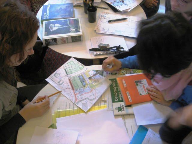 Mažo sklypo apželdinimas prasideda nuo apgalvoto projekto