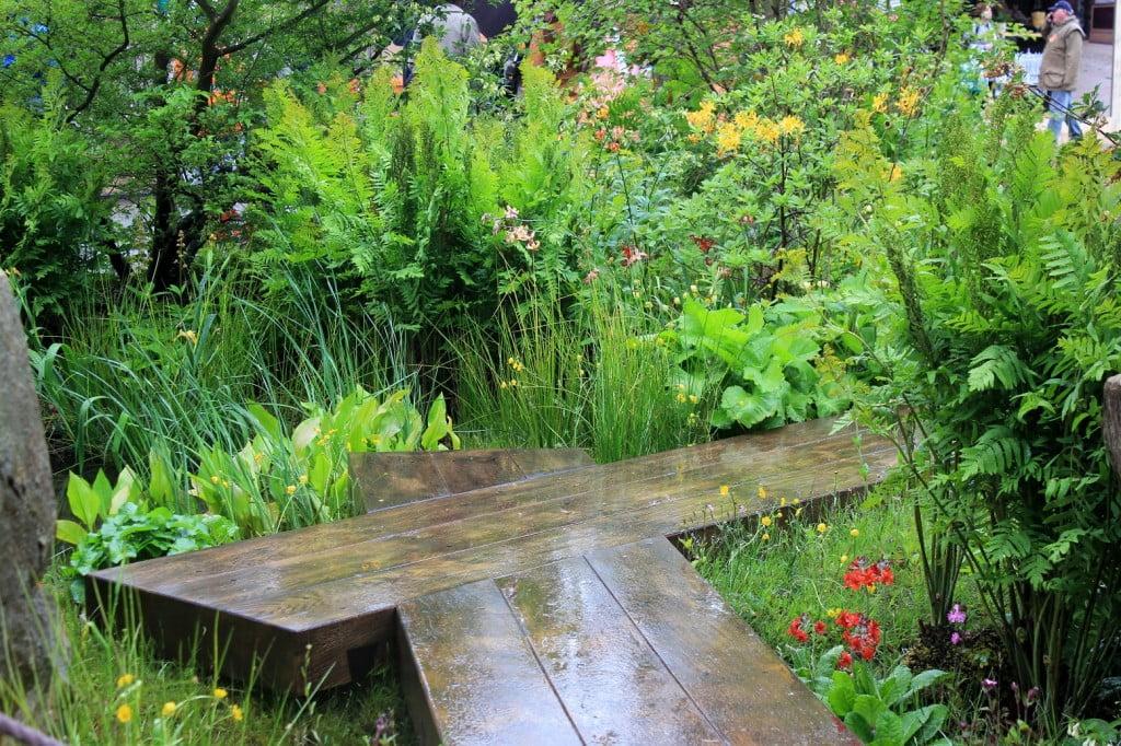 "Dan Pearson kurtas sodas ""The Laurent-Perrier Chatsworth Garden"""