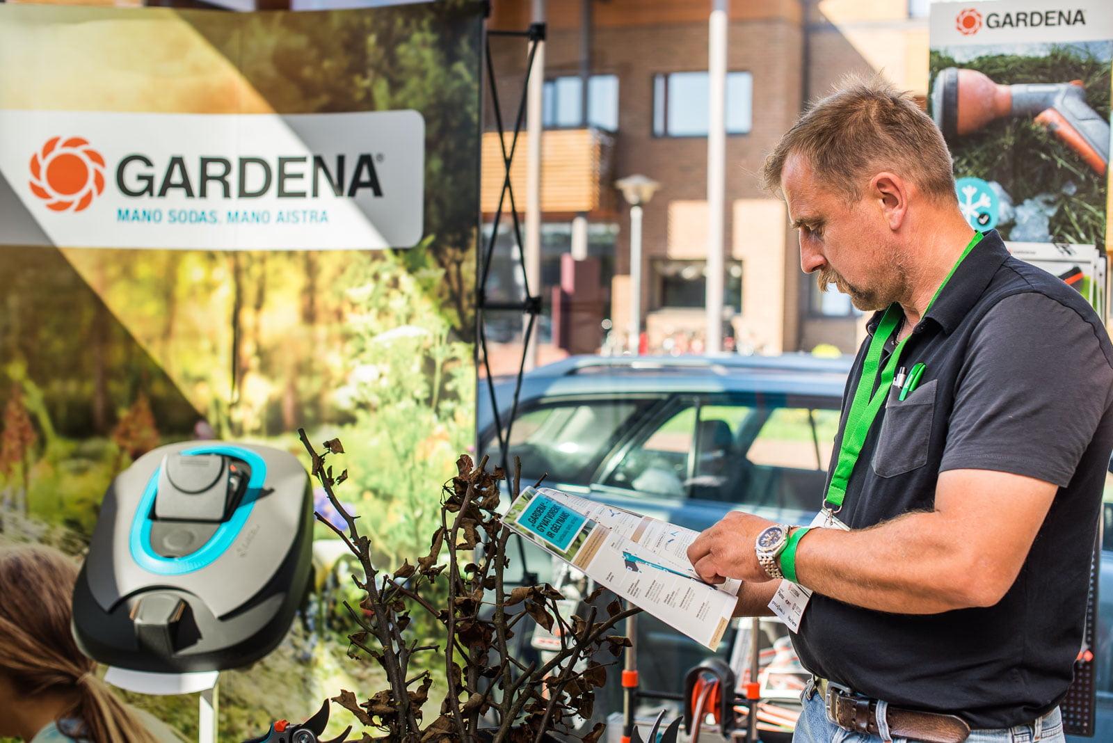 """""""Gardenos"""" stende sutikome daug ištikimų jų produktų naudotojų"""