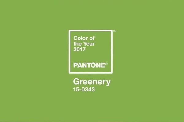 """2017-ųjų metų spalva - """"Greenery"""" (žaluma)"""