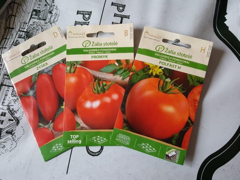 Determinantiniai pomidorai