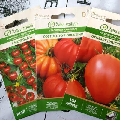Pomidorų veislės: kas yra determinantiniai ir indeterminantiniai