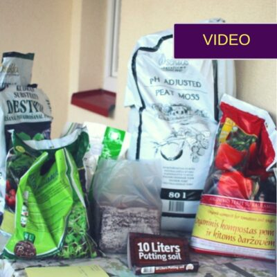 Žemės, substratai ir priedai: tobulo mišinio receptas