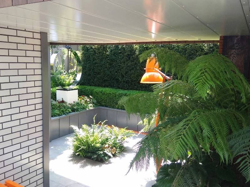 """Kate Gould """"Fresh Garden"""" – sodas, kuris išsiskiria savo jaukiomis erdvėmis"""