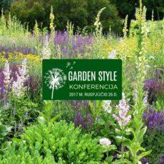 """""""Garden Style 2017"""" – įkvepiantis renginys apie naujausias tendencijas"""