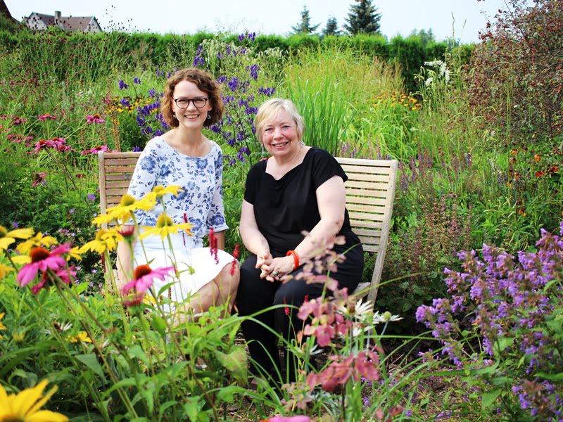 """""""Natūralistinis stilius įneša į sodą laukinio gyvenimo. Būtent toks sodas ir yra tai, ką mes skatiname visame pasaulyje"""" –  pasakoja Carolyn Mullet. Nuotr. L. Liubertaitė"""