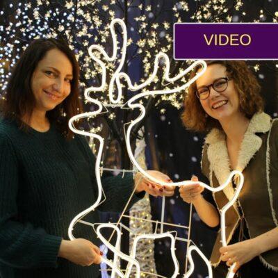 Kalėdinis lauko apšvietimas: 3 praktiški dizainerės patarimai