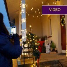 Kaip baisią terasą pavertėm kalėdiška ir jaukia