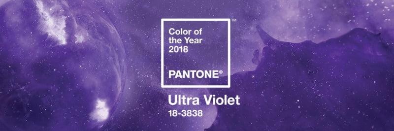 Violetiniai žiedai - tai madingiausia spalva 2018-aisiais pagal Pantone instituto siūlymą. Nuotr. iš Pantone.