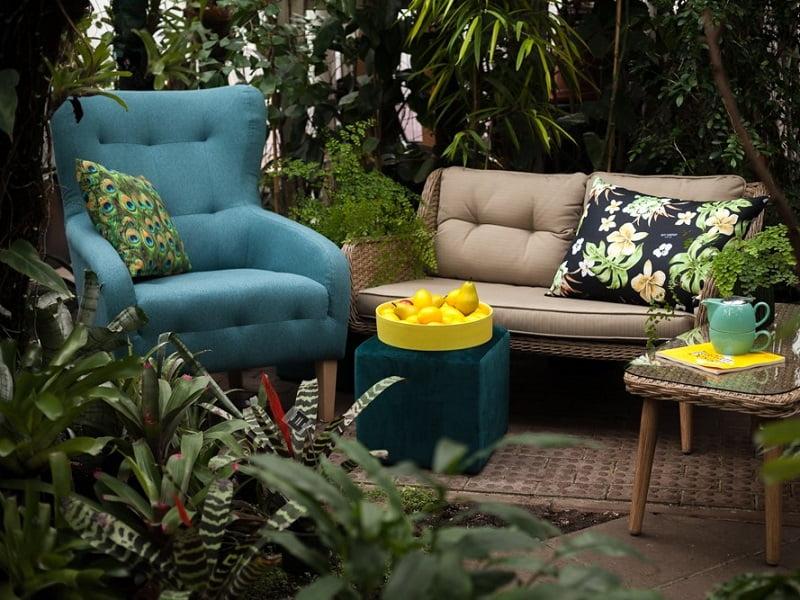 Terasoje galima naudoti namuose esančius baldus. Šaltinis: www.berry.lt