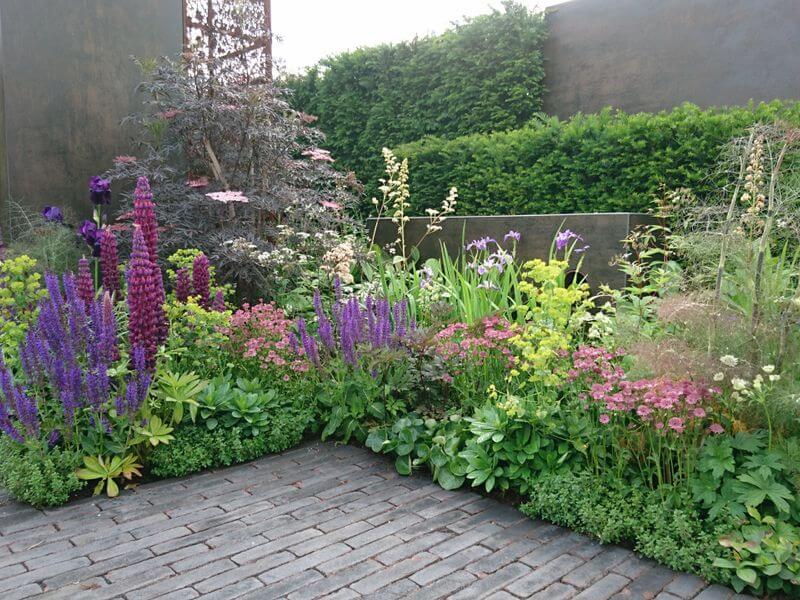"Tony Woods sodas ""Urban Flow Garden"". Nuotr. aut. J. Bakūnė (Čelsio gėlių paroda 2018, Londonas)"