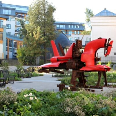 Išskirtinis MO muziejaus sodas: štai kaip gimė jo idėja