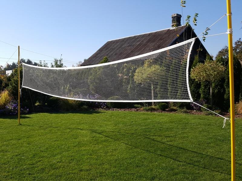 Išnaudokite kiemą maksimaliai: tegul veja būna ne tik veja, bet ir sporto aikštelė. Nuotr. L.Liubertaitė