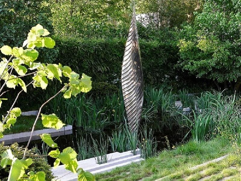 Andrew Duff  - dizaineris, suprojektavęs sodą, skirtą poilsiui. Nuotr. Alina Batavičiūtė