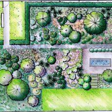 Aplinkos dizaino piešimas