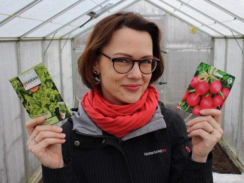 Daržovių sėja pradedama nuo tinkamų sėklų pasirinkimo. Nuotr. L.Liubertaitė