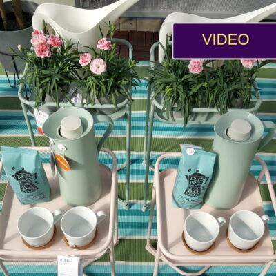 Klasikinės balkoninės gėlės – hipster urban stiliumi!