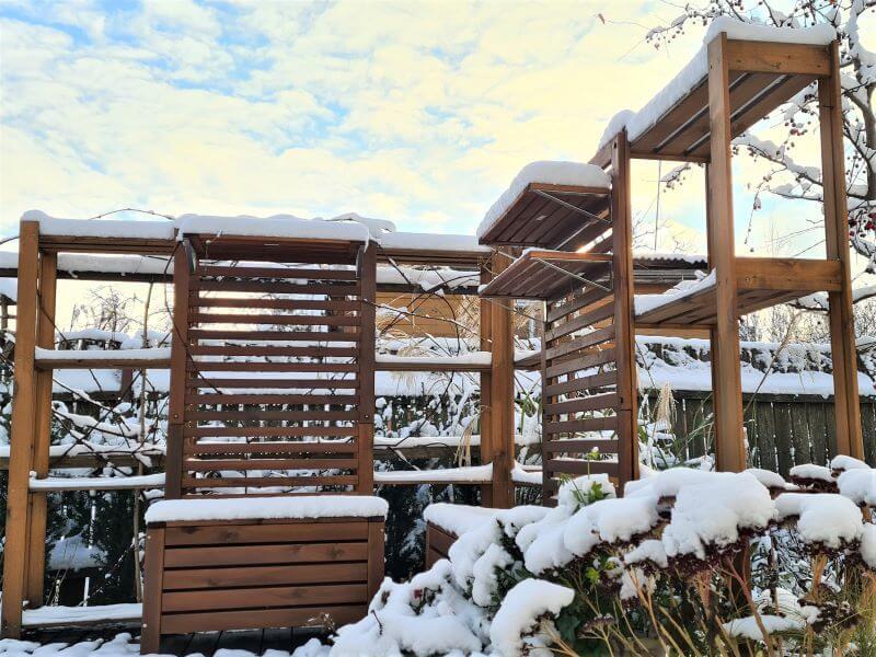 Kiemas žiemą terasa