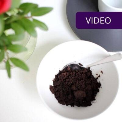 Kavos tirščiai darže neduoda tiek naudos, kiek galvojama