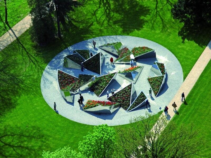 Pilies parkas, State Garden Show 2004, Volfsburgas, Vokietija https://www.topotek1.de/openSpaces/castle-park/