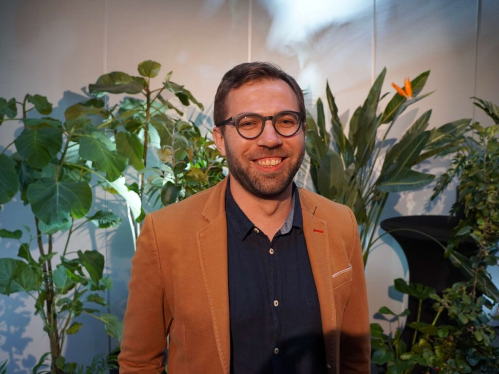 """Gytis Lietvaitis konferencijoje """"Garden Style"""" 2021. Nuotr. Lina Liubertaitė"""